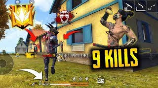 Solo 9 Kills Psycho Killed Sourav - Garena Free Fire- Total Gaming