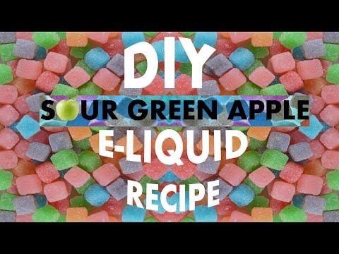 Sour Green Apple E Liquid Recipe 10ml