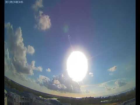 Cloud Camera 2017-09-24: Key West High School