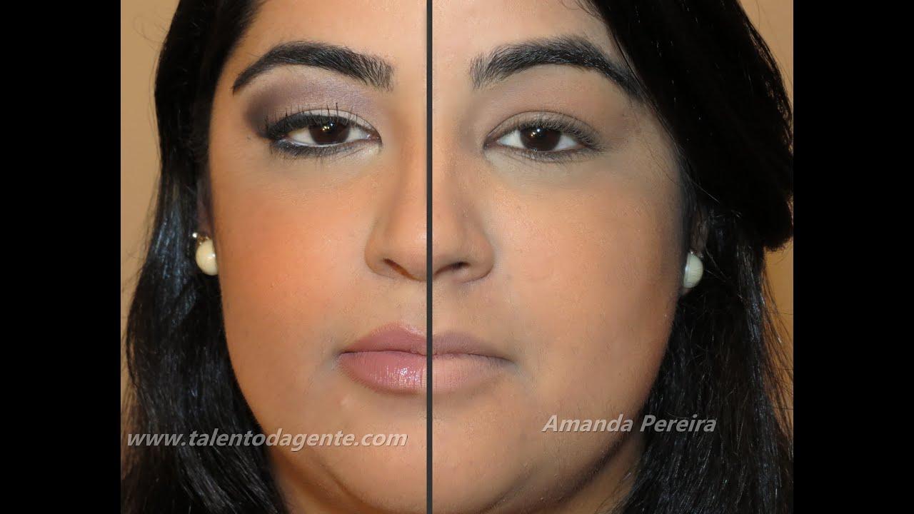 Favoritos Maquiagem para olhos pequenos - Por Amanda Pereira - YouTube UG11