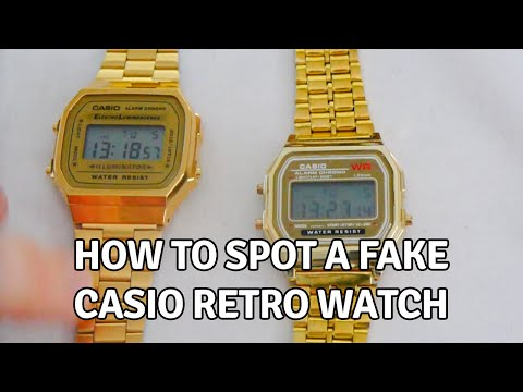 50637ab582d2 How to Spot a Fake Casio Retro Watch - YouTube