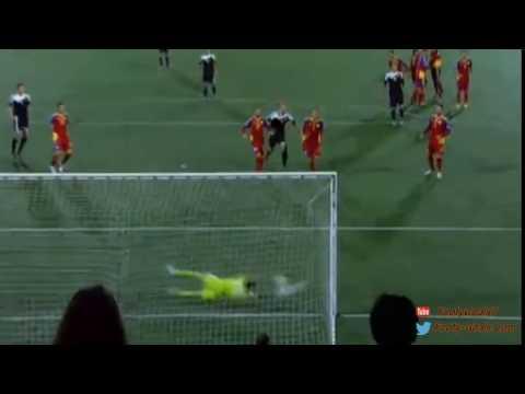 Kevin De Bruyne Fantastic Free Kick Goal   Andorra Vs Belgium 1 4
