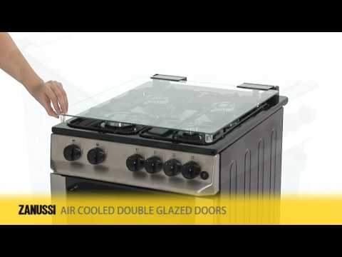 Zsi Zcg563fx Gas Cooker Double Oven