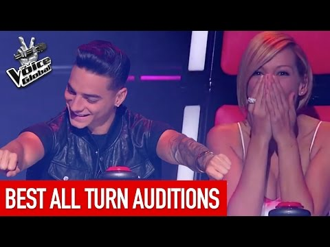 The Voice Kids | Best ALL TURN Blind Auditions [PART 2]