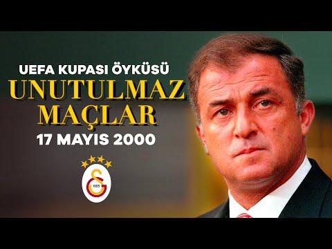 UEFA Kupası | 17 Mayıs 2000'de alınan UEFA Kupası'nın öyküsü