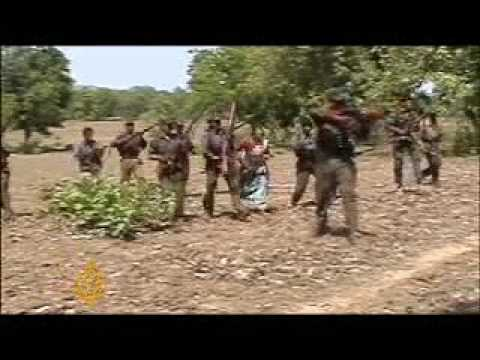 India's government battles Maoist fighters - 4 Apr 09