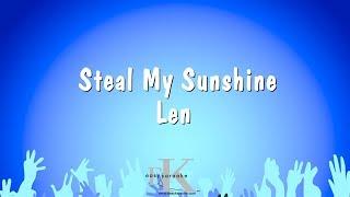 Steal My Sunshine - Len (Karaoke Version)