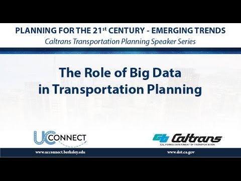 The Role of Big Data in Transportation Planning