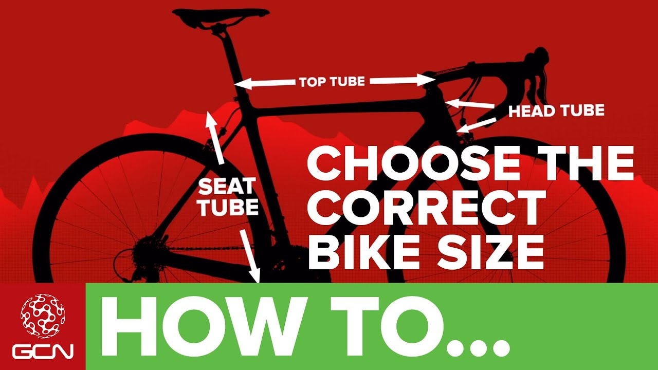 How To Choose The Correct Size Of Road Bike Frame - YouTube