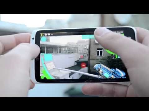 X-Rift - augmented reality mobile game.