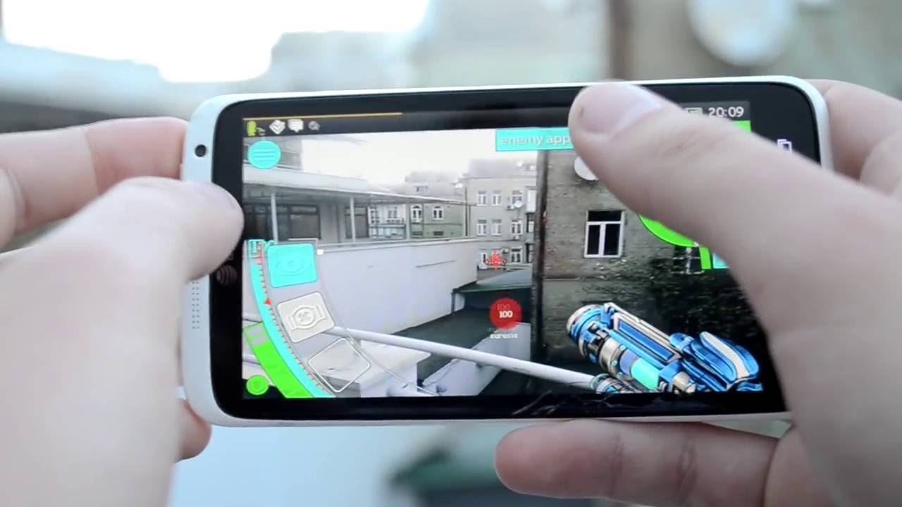 X-Rift - augmented reality mobile game. - YouTube