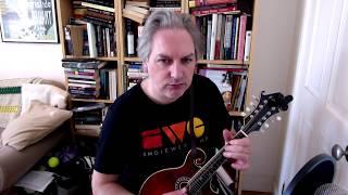 Johnny O'Leary's (slide) on mandolin