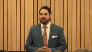 Edgar Rodriguez Sanchez's Three Minute Thesis - Understanding Gay Men's Identities