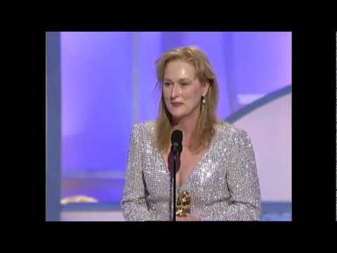 Thumbnail: Meryl Streep Wins Best Supporting Actress Motion Picture - Golden Globes 2003