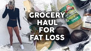 Grocery Haul for FAT Loss