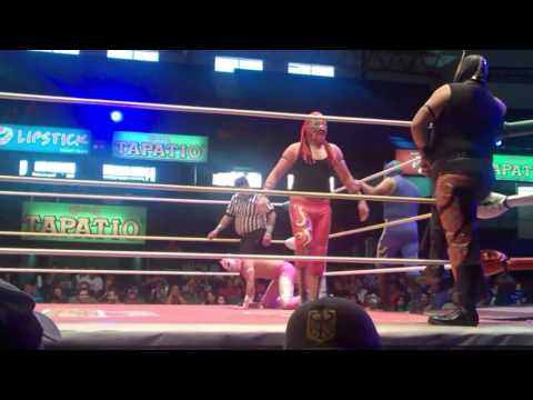 Lucha Libre Wrestling CMLL Guadalajara vs Tijuana 20th September 2015