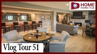 Vlog Tour 51 - Luxury Ranch Homes at the Lakes of Boulder Ridge