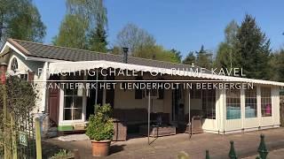 Prachtig chalet op ruime kavel in Beekbergen Veluwe op Het Lierderholt