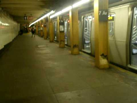 R160B Q Train Siemens & R142 2 Train on the Eastern Parkway Line at 7th Ave
