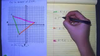 Find Perimeter of triąngle distance Formula