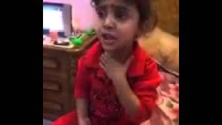 بنت عراقية لسانها عسل زعلانة من أبوها