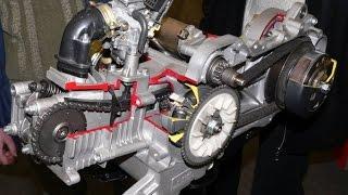 Восстановление скутера. Выпуск 3. Сборка двигателя 139QMB с нуля. Complete engine assembly 139QMB.