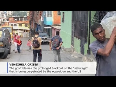 Caracas residents trying to get back to routines amid electricity rationing