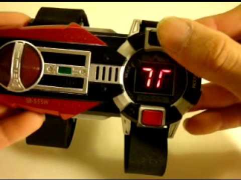 Kamen Rider Delta Belt Loose Kamen Rid...