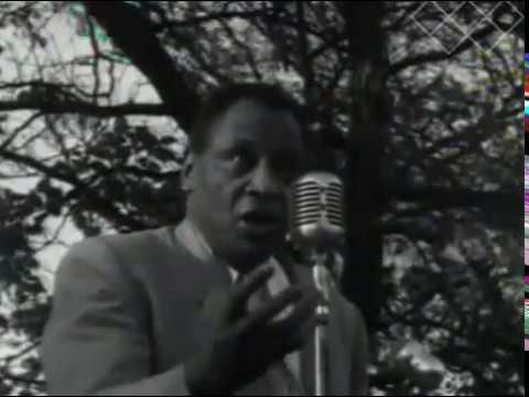 Paul Robeson, Sr. Speaks @ Chicago
