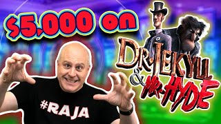🧪 What Can I Hit with $5,000 on Dr. Jekyll & Mr. Hyde? 💸 $60 SPINS!