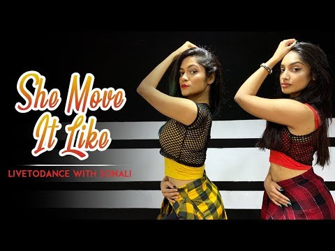 She Move It Like | Badshah | Warina Hussain | Arvindr Khaira | Dance Cover | LiveToDance With Sonali