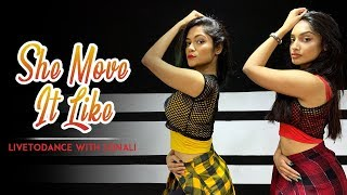 She Move It Like | Badshah | Warina Hussain | Arvindr Khaira | Dance Cover | LiveToDance with Sonali