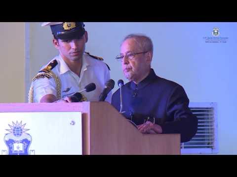 President of India Shri Pranab Mukherjee Talks About Jindal University