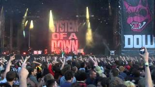 System Of A Down - BYOB live at Download Festival 2011