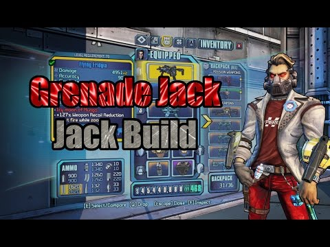 Borderlands: TPS: Grenade Jack - Build Showcase (w/ Download)