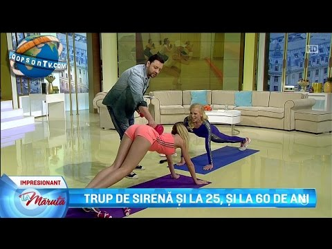 Top 4 Aerobics on TV | May 2017 | HD: Aerobics hot moments on TV shows. No.4 - Flavia Mihasan, no.3 - Claudia Molina and Karla Martínez, no.2 - Ioana Filimon (Miss Romania 2016), no.1 - Magui Bravi. Compilation from televisions all over the world.  Warning! This video may contain content that is inappropriate for some users.  Channel donations: https://www.paypal.com/cgi-bin/webscr?cmd=_s-xclick&hosted_button_id=FXFFC9BMEY2MN
