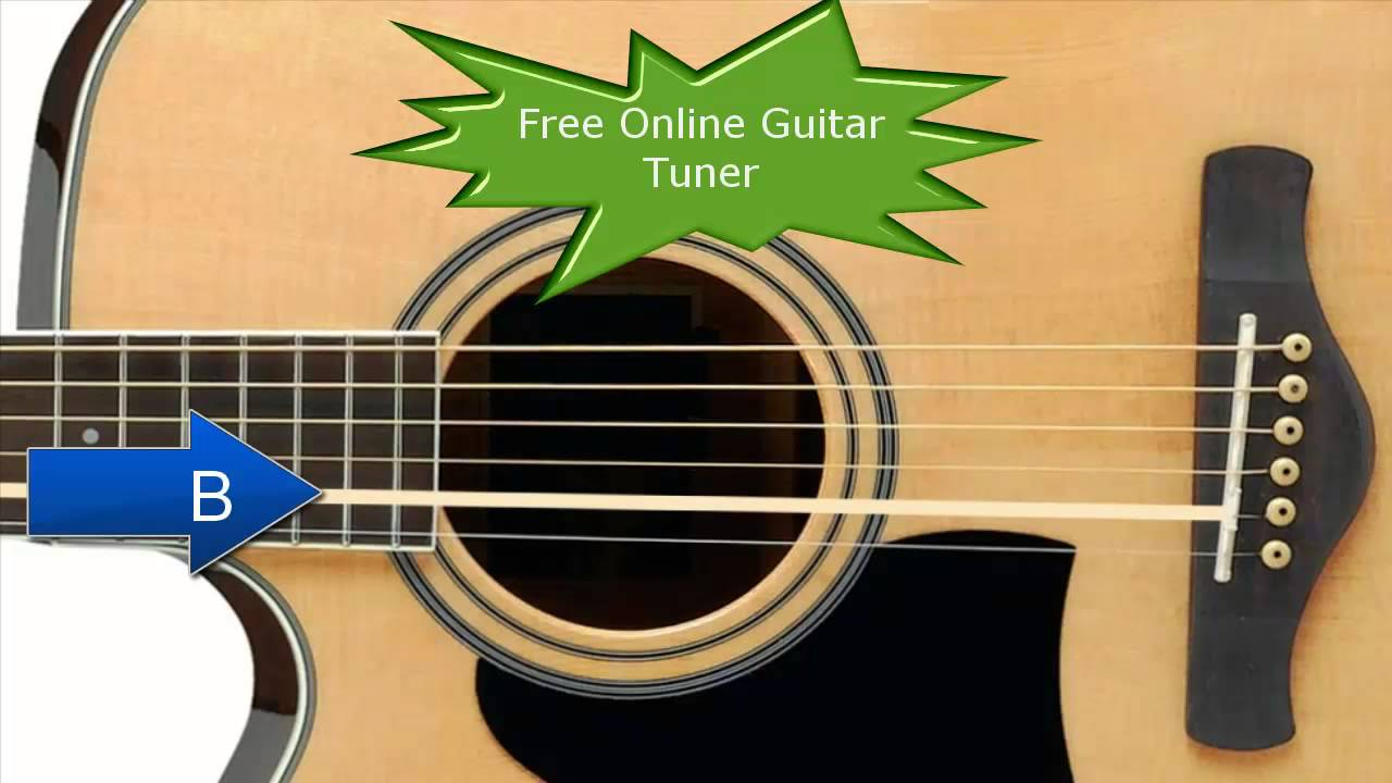 free online guitar tuner acoustic electric guitar youtube. Black Bedroom Furniture Sets. Home Design Ideas