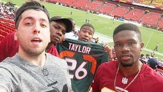 THE WORST DAY EVER!!!!! Redskins vs Cowboys Game