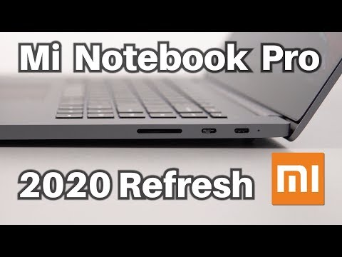 Mi Notebook Pro (2020) 10th Gen Unboxing Hands-On Review