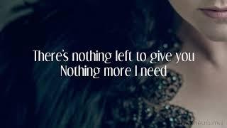 Evanescence - Hi-Lo (Synthesis) [Lyric Video]