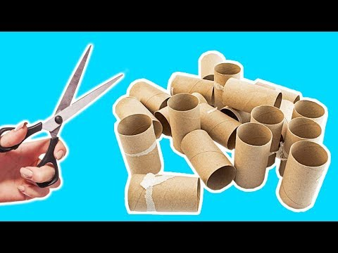 4 Ways To Recycle Empty Toilet Paper Roll| Best Out of Waste
