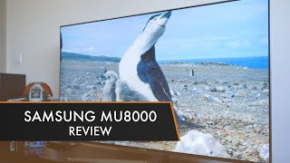 Samsung MU8000 TV (UE55MU8000) | Review