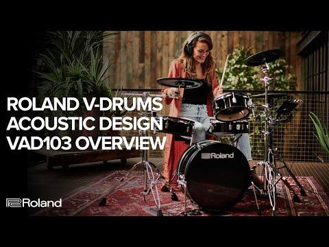 Roland V-Drums Acoustic Design VAD103 Electronic Drum Kit Overview