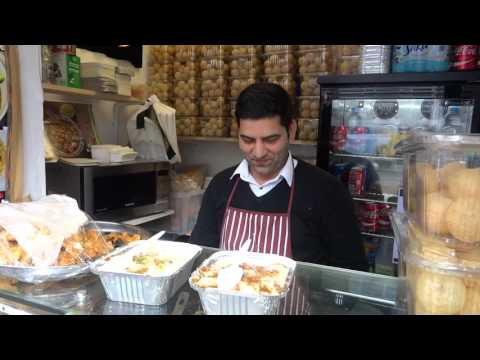 Indian/Pakistan Street Food: Samosa & Channa Chaat, Dahi Bha