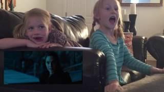 My girls react to Wonder Woman
