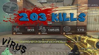 Crossfire West | FFA 203 Kills  | New Greece | AWM- UG (no switch)