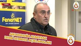 2. Başkanımız Abdurrahim Albayrak'ın Fenerbahçe Maçı Sonrasında Yaptığı Açıklamalar