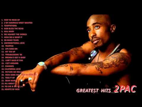 TUPAC Greatest Hits-- Best Of 2PAC