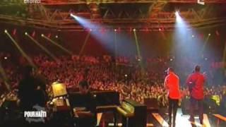 Beethova Obas chante pour Haiti
