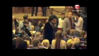 Ф.Киркоров на концерте Ани Лорак в Кремле(Фрагмент передачи канала СТБ